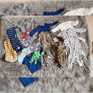 Variety bundle of baby boy clothes 6-12 month
